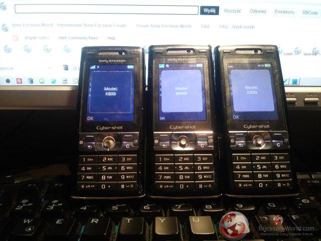 K800i Family