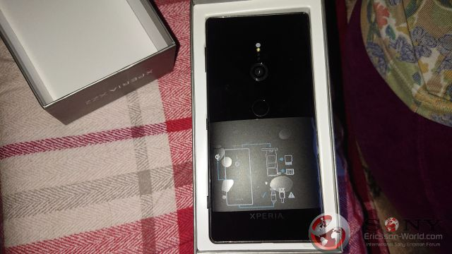 Sony xperia XZ2 tył