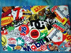 Folia stickerbomb