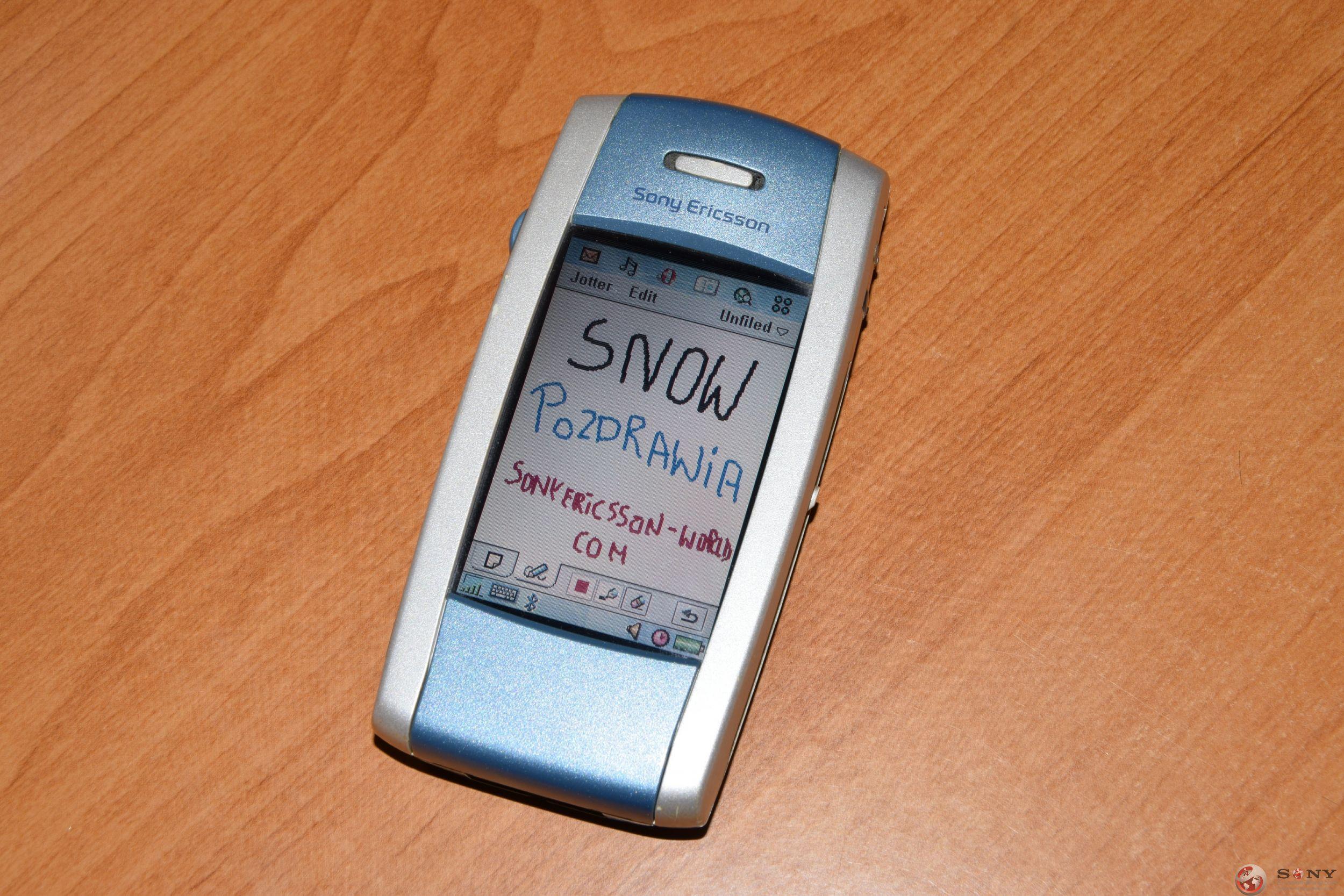 Sony Ericsson P800i