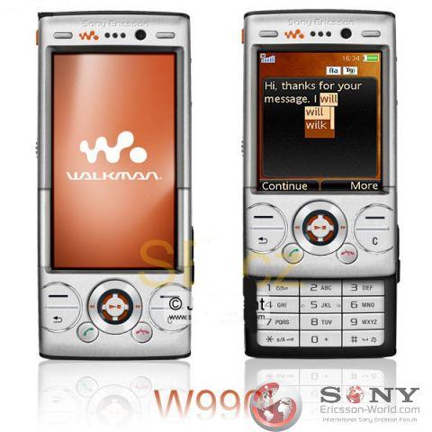 Sony Ericsson w990i